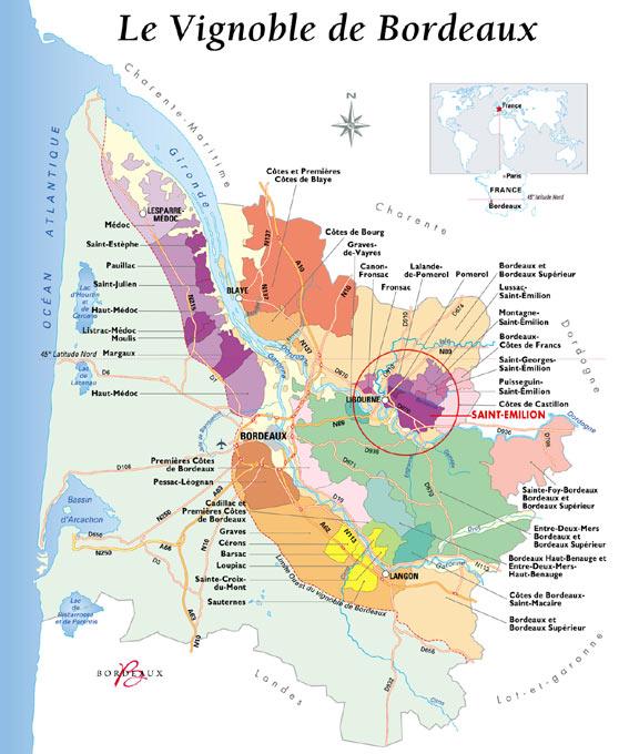 Bordeaux Wijnkennis